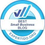 Top small business blog award winner 2019