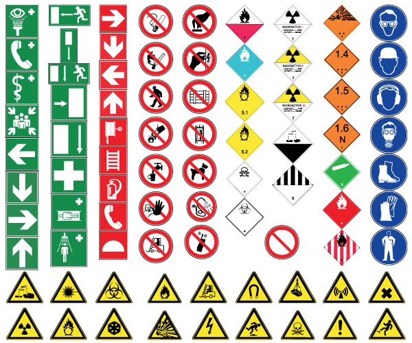 Over 7600 Health And Safety Printable Warning Signs