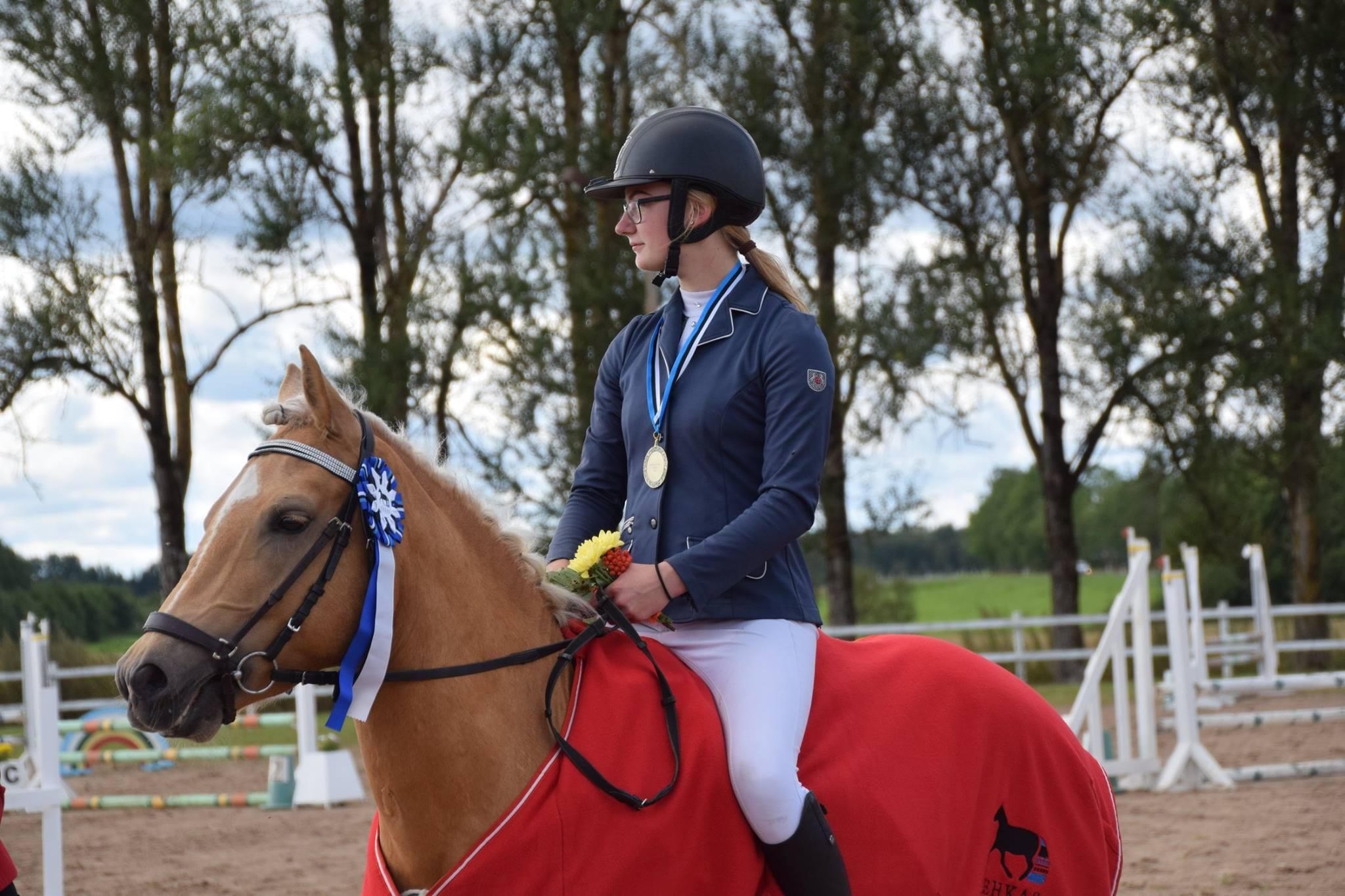 TRON parim 4 aastane eesti hobune EESTI TÕUGU HOBUSTE MEISTRIVÕISTLUSTEL