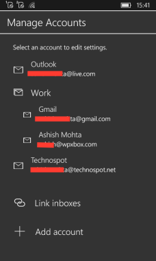 Linked Inboxes WM 10 6