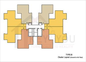 Tulip Lemon Sector 69 Gurgaon Floor Plan 4
