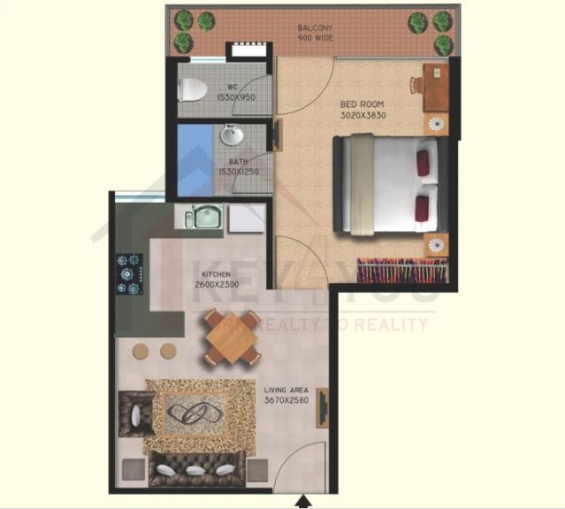 Affordable Housing Gurgaon Sector 111 Floor Plan