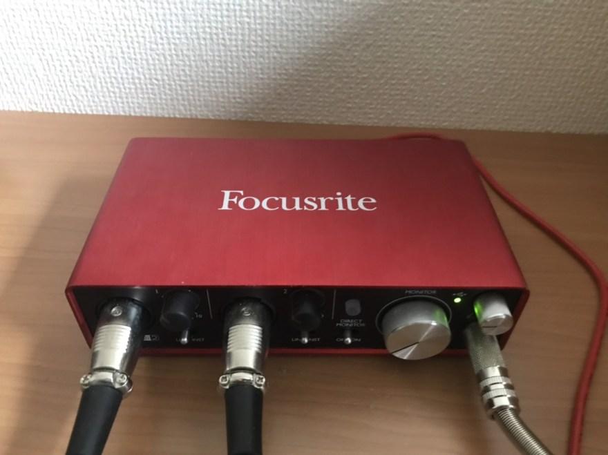 FOCUSRITE ( フォーカスライト ) / Scarlett 2i2 G2 オーディオインターフェイス