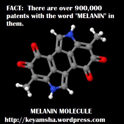 Melanin molecule