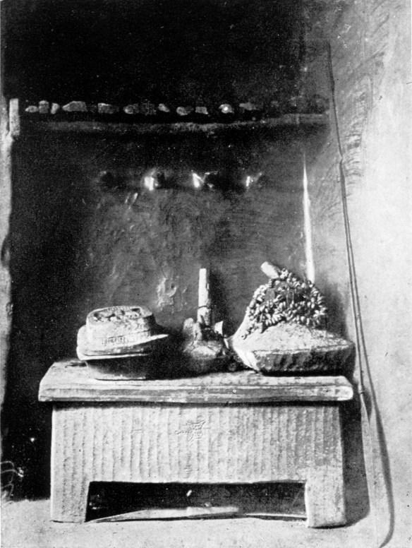 Igbo ancestral shrine Onica Olona