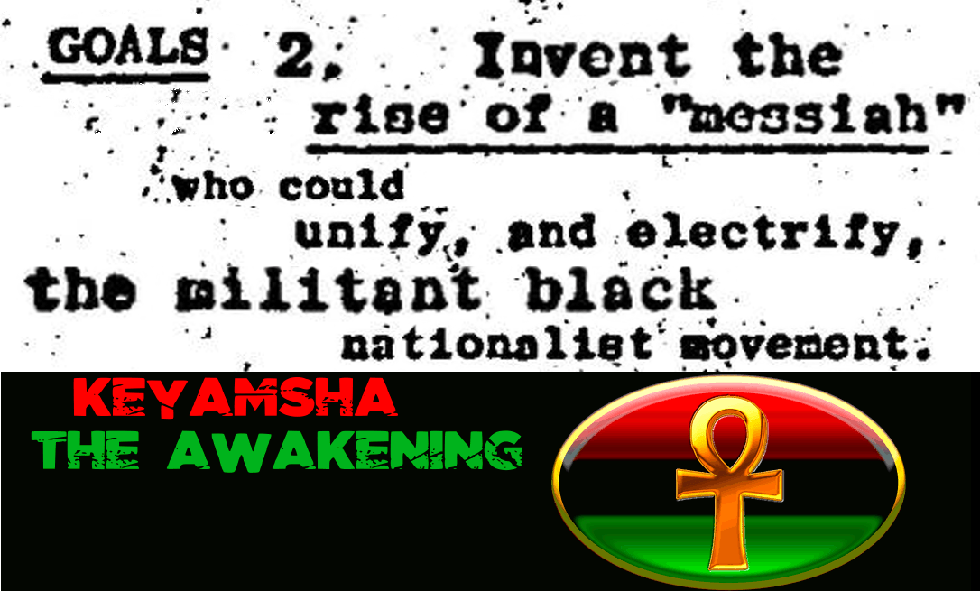 Goal Invent The Rise Of A Black Messiah Keyamsha The Awakening