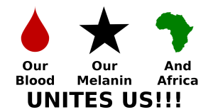 our blood our melanin and Africa unites us