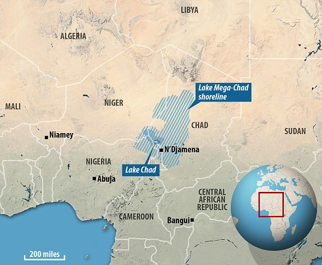 fromlake mega chad to lake chad