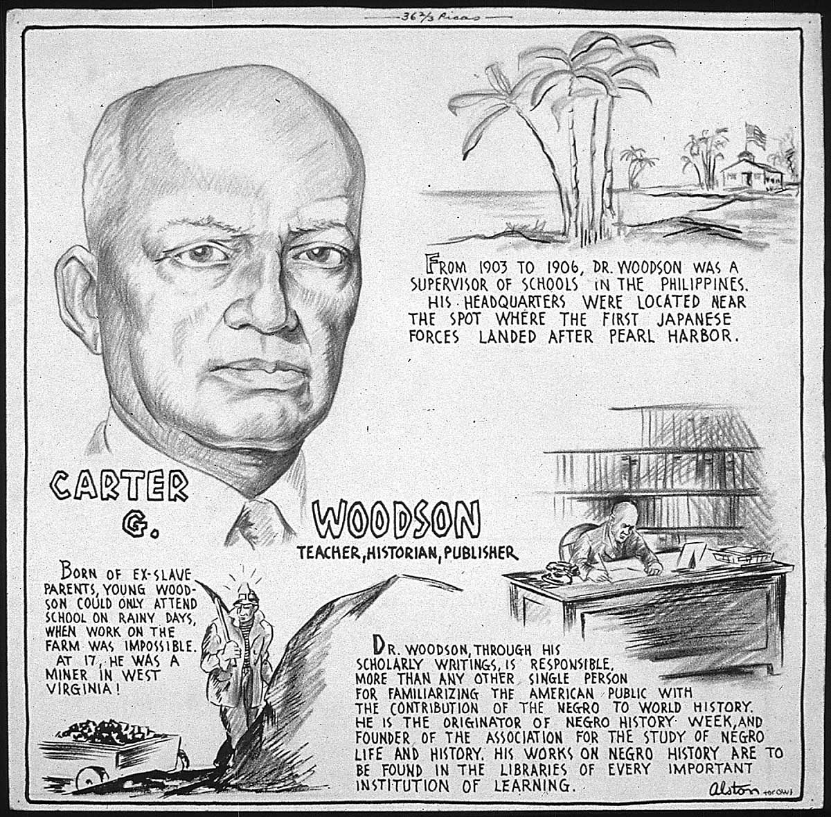 Memo From Dr Carter G Woodson Re The Miseducation Of