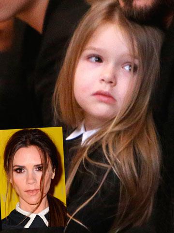 Aw Victoria Beckham Is This Harper Beckhams Cutest Mini