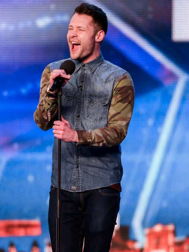 Single Britains Got Talent Star Calum Scott Receives