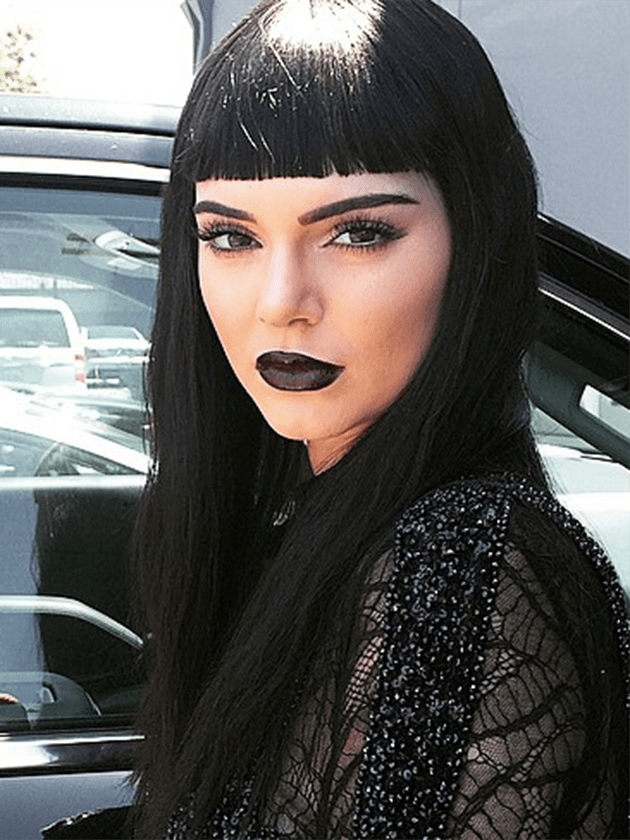 Kendall Jenner Gets A GOTH Makeover On Latest Photoshoot
