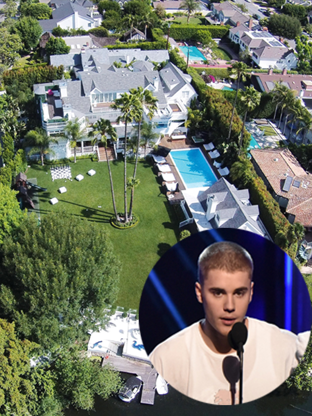 Justin Bieber House Interior