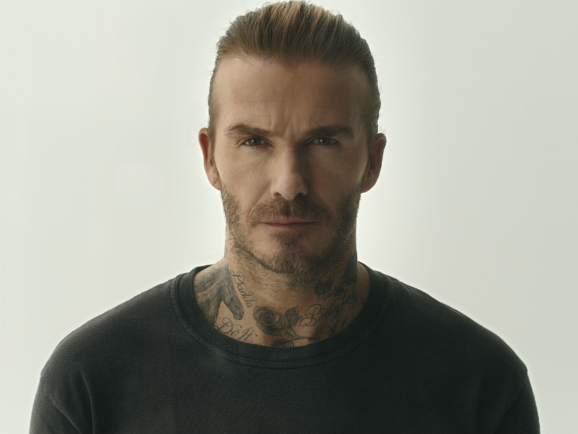 David Beckham Faces Swarm Of Mosquitoes In Powerful
