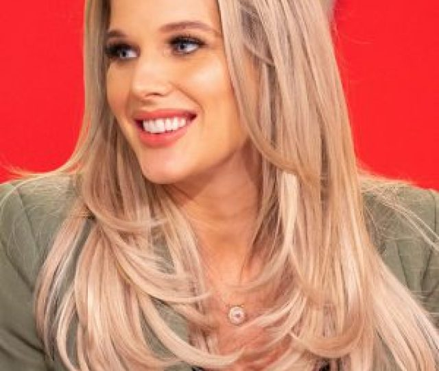 Helen Flanagan Gives Fans An Eyeful With Busty Lingerie Snap As She Shows Off Post Baby Bod