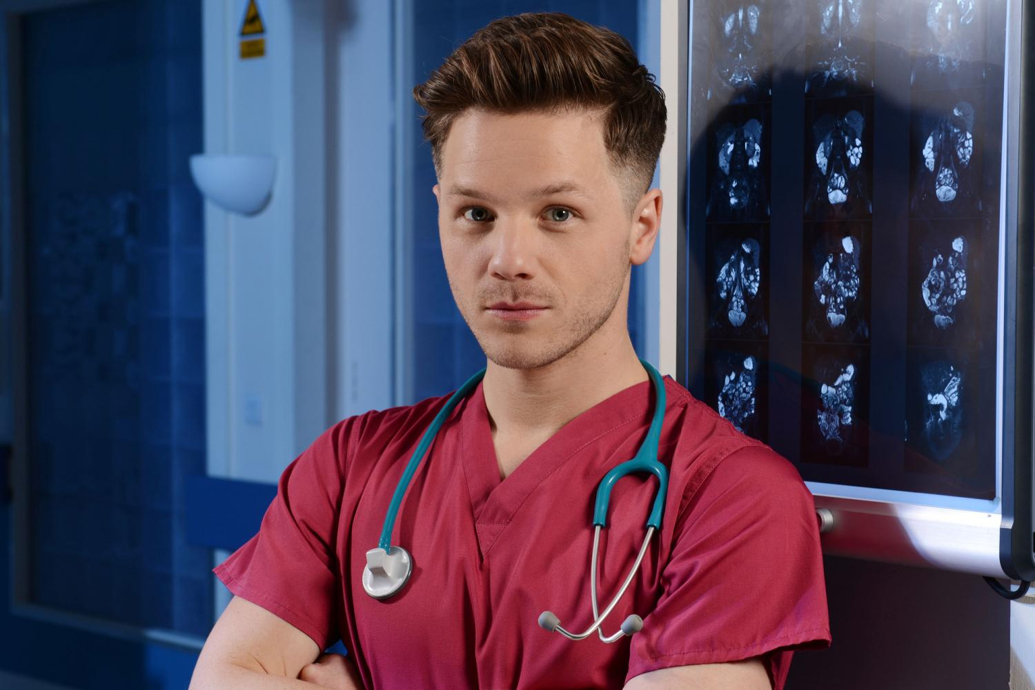Holby Star David Ames Dom Is Definitely Going To Spice