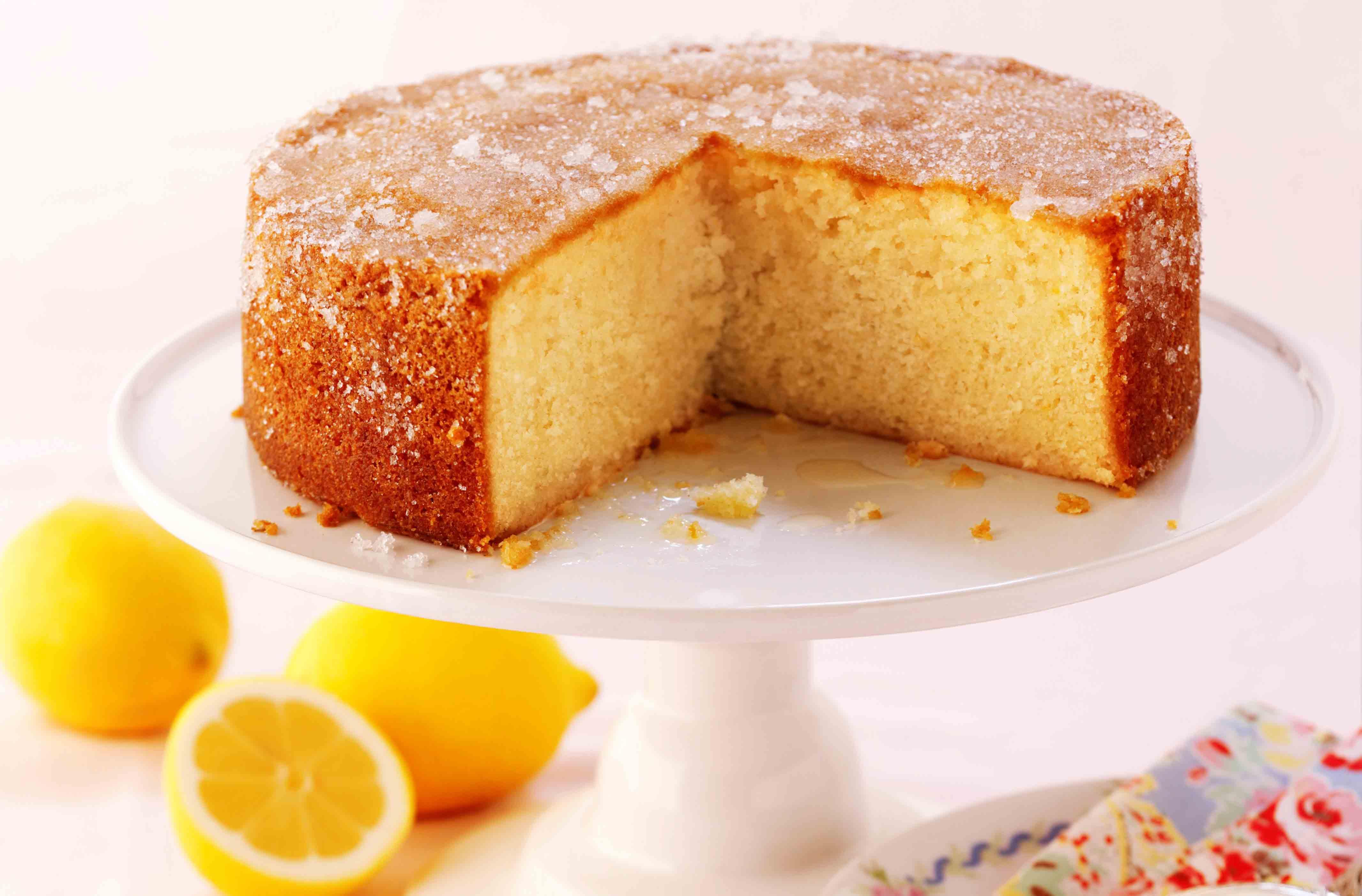 Elderflower And Lemon Drizzle Cake Recipe Goodtoknow