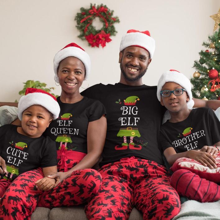 Etsy Christmas pyjamas