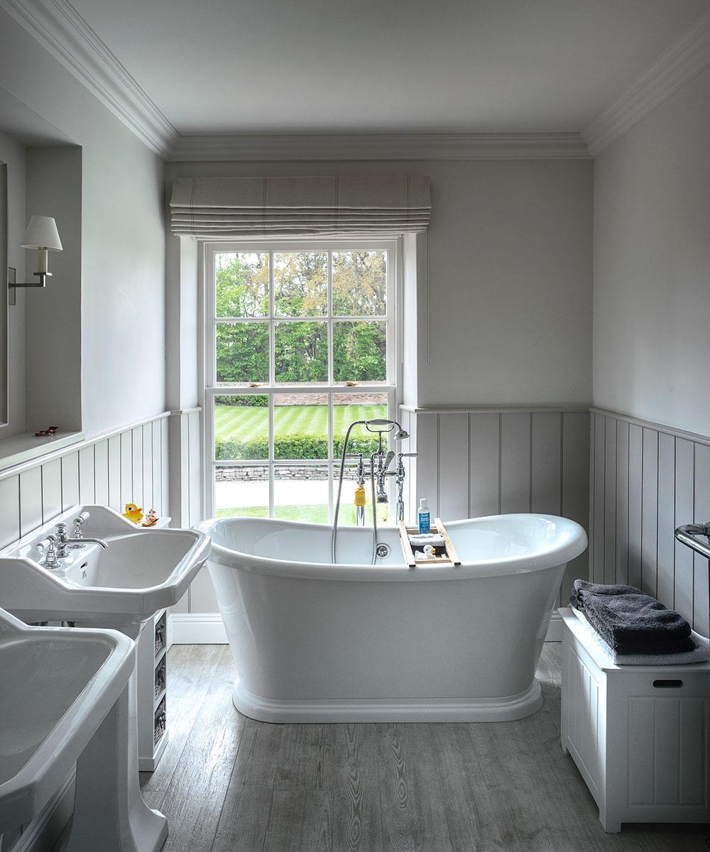 Grey bathroom ideas - Grey bathroom ideas from pale greys ...