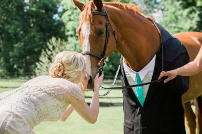 Wedding belles: 26 brides whose horses were invited to their big day  *PICTURES* - Horse & Hound