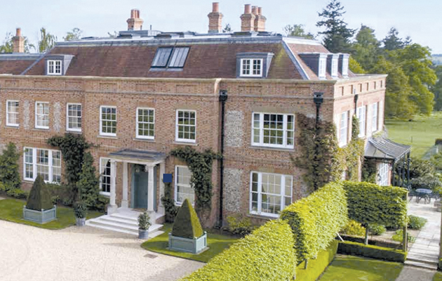 A 163 12 5 Million Wiltshire Mansion And Other Properties
