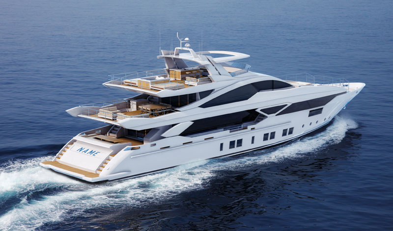 Azimut Unveils Biggest Ever Boat The Grande 140 Trideck