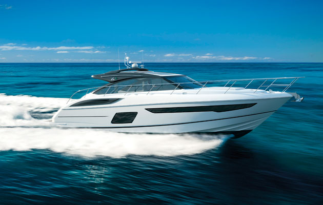 Princess V58 Open To Launch At Southampton Boat Show