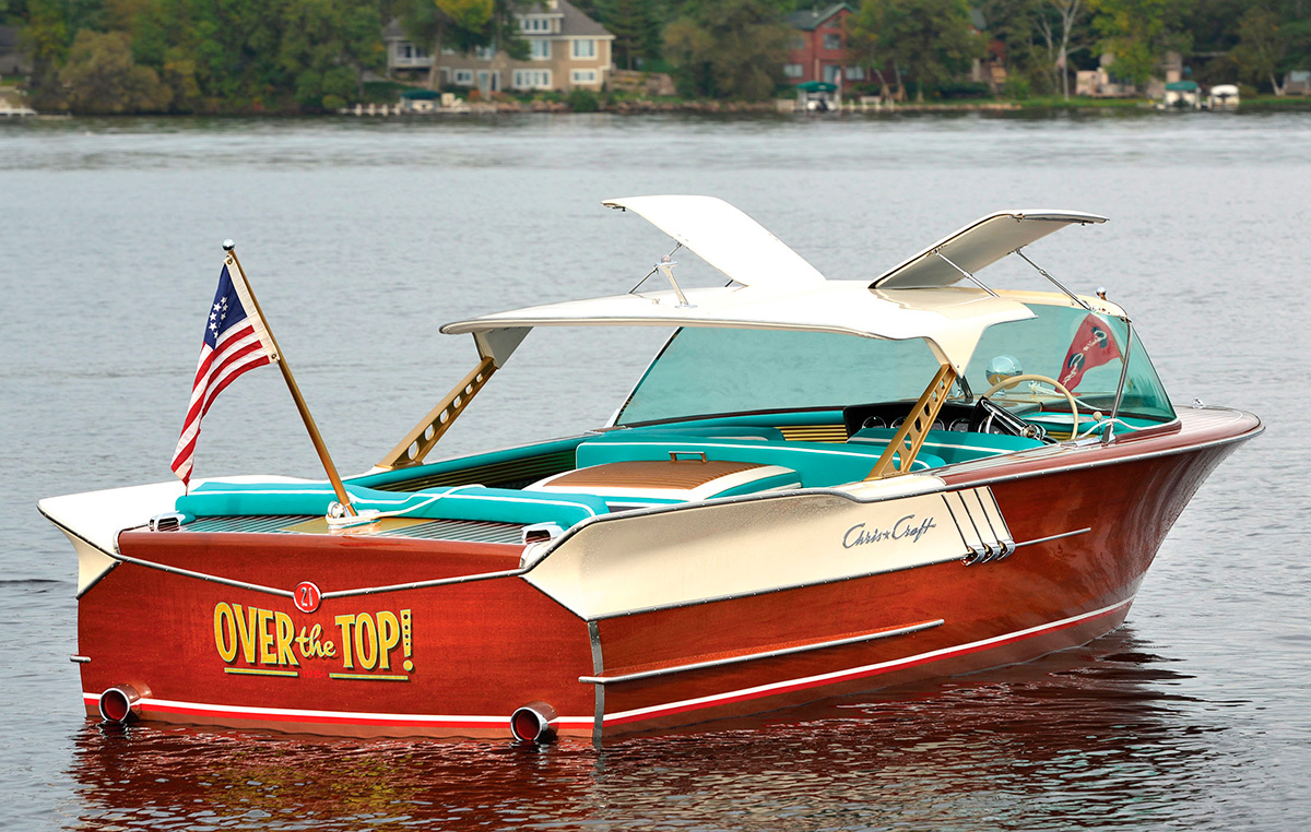 Rare 1961 Chris Craft Continental 21 To Go Up For Auction