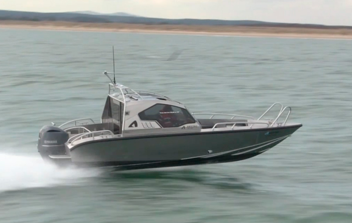 VIDEO Anytec 747 Cab Goes Flying Off Poole Motor Boat