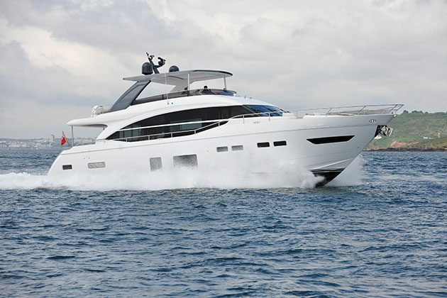 VIDEO Princess 75 Motor Yacht Review Motor Boat Amp Yachting