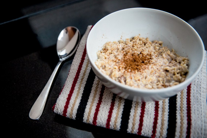 Oats plus cinnamon help keep glucose levels stable