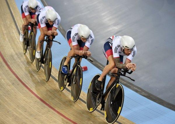 Great Britain qualify fastest in men's team pursuit at ...