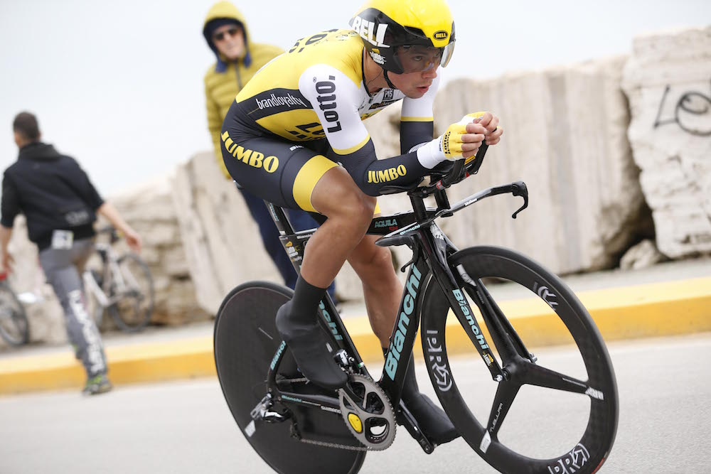 https www cyclingweekly com news racing start im told bike long giro ditalia time trial winner didnt easy 225482