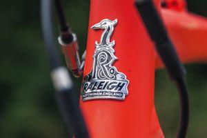 raleigh head tube badge