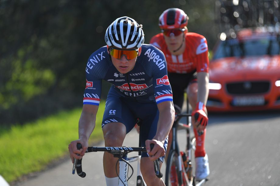 Mathieu van der Poel takes on the climbers with 23km mountain KoM on Strava
