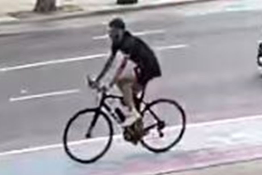 Detectives release image of man wanted for questioning as elderly pedestrian dies after being hit by bicycle