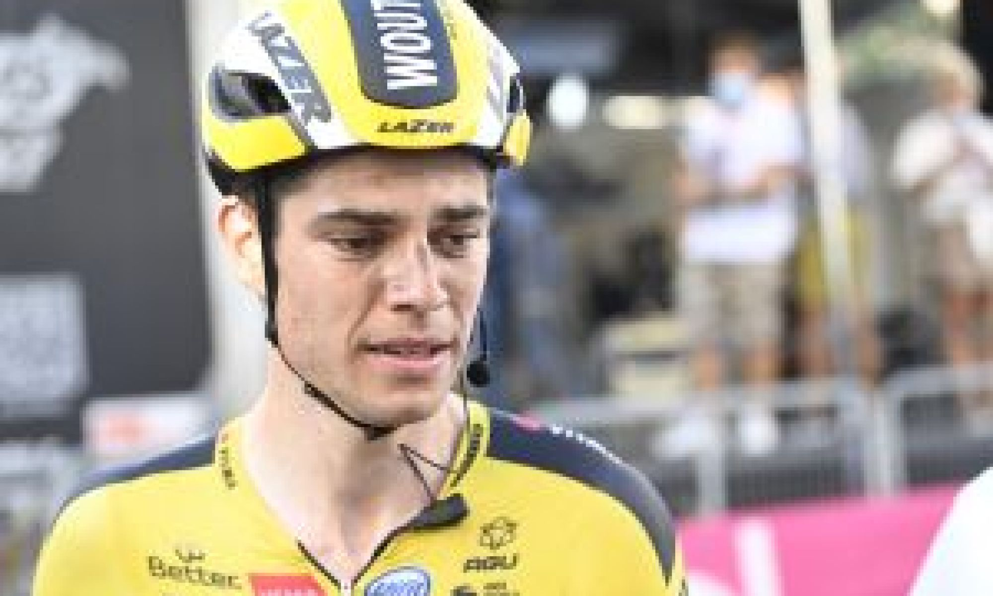 <div>Wout van Aert: 'Dylan Groenewegen made a big mistake but it was painful to see the reaction to him'</div>