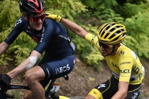 <div>'I always want more': Julian Alaphilippe coy on defence of yellow jersey</div>