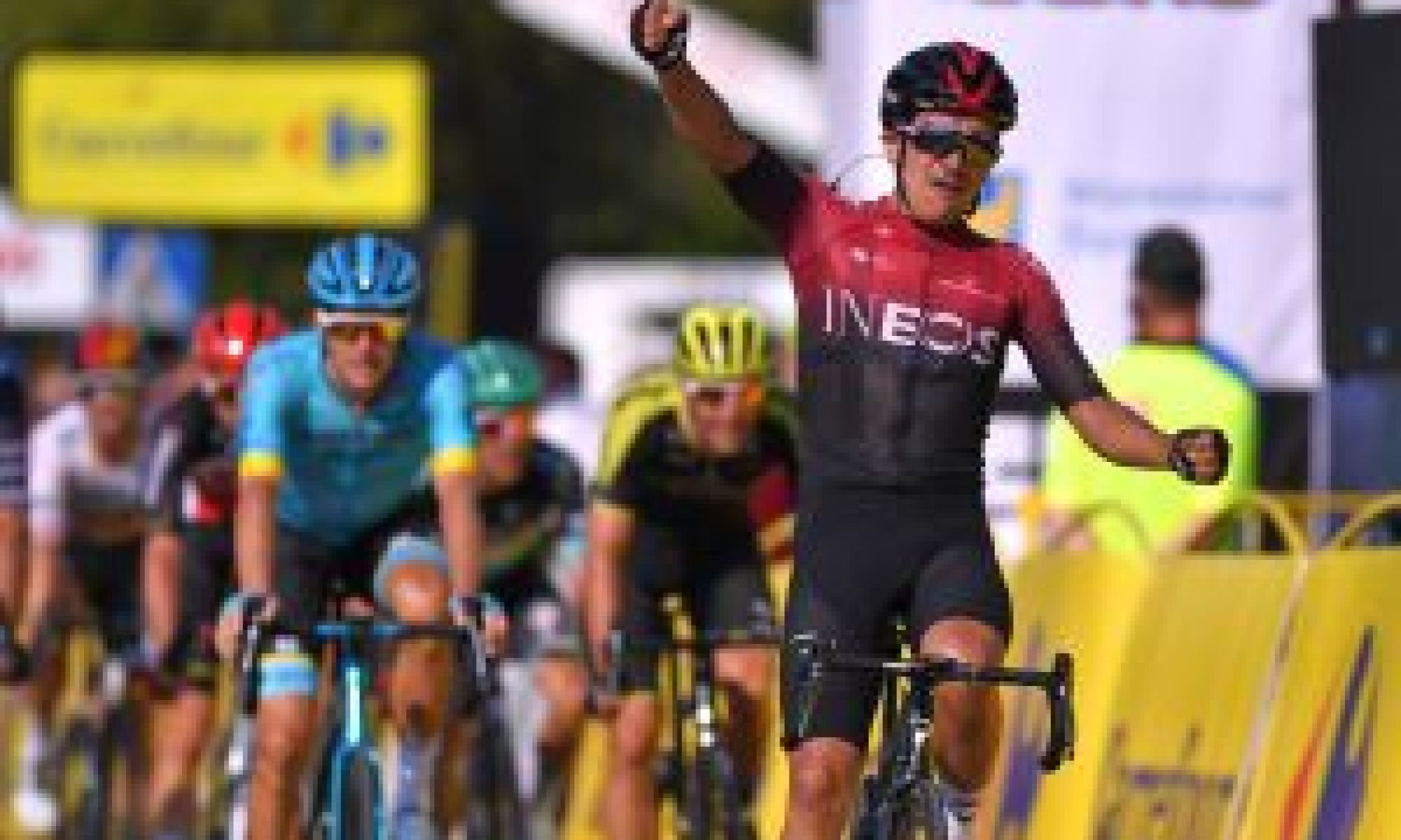 Educating Richard - How the Giro winner is fitting in at Ineos
