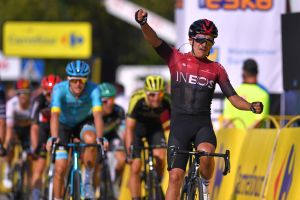 Richard Carapaz goes early to take stage three win and overall lead at Tour of Poland 2020