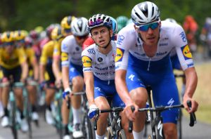 <div>'We're just doing our best to go on as normal,' says Deceuninck - Quick-Step's James Knox</div>