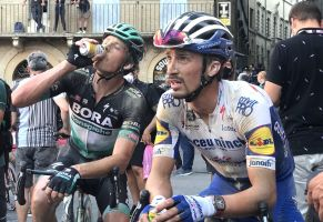 <div>Julian Alaphilippe: 'I hope Philippe Gilbert can make it' five Monument victories at Milan - San Remo</div>