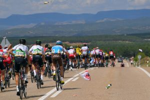 UCI plans to introduce time penalties for riders littering during races