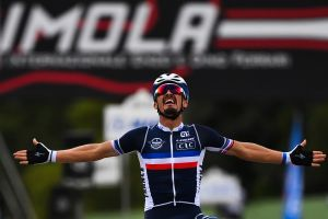 Julian Alaphilippe the new world champion after sensational road race victory at Imola 2020