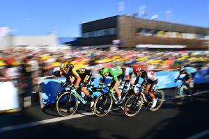 <div>Tour de France 2020: 'Sprinters are crazy guys fighting for places,' says Primož Roglič after Peter Sagan relegated</div>