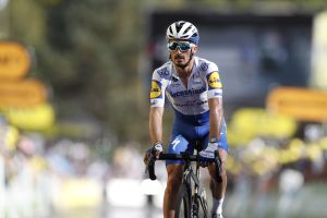 <div>'I thought it was bike trouble, but it was just the legs': Julian Alaphilippe proves mortal once more on Tour de France stage 12</div>