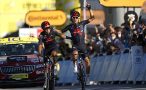 <div>'We're inspired by him': Kwiatkowski pays tribute to Nico Portal after perfect team performance at Tour de France</div>