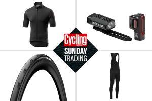 Sunday trading: Big discounts on winter Castelli kit and bike lights