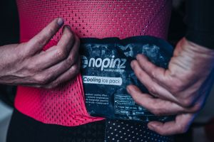 New Nopinz kit houses ice packs for at indoor workouts