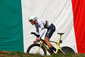 <div>Filippo Ganna dominates stage 14 time trial as João Almeida extends overall lead at Giro d'Italia 2020</div>